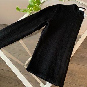 Diane von Furstenberg Cropped Black Cardigan